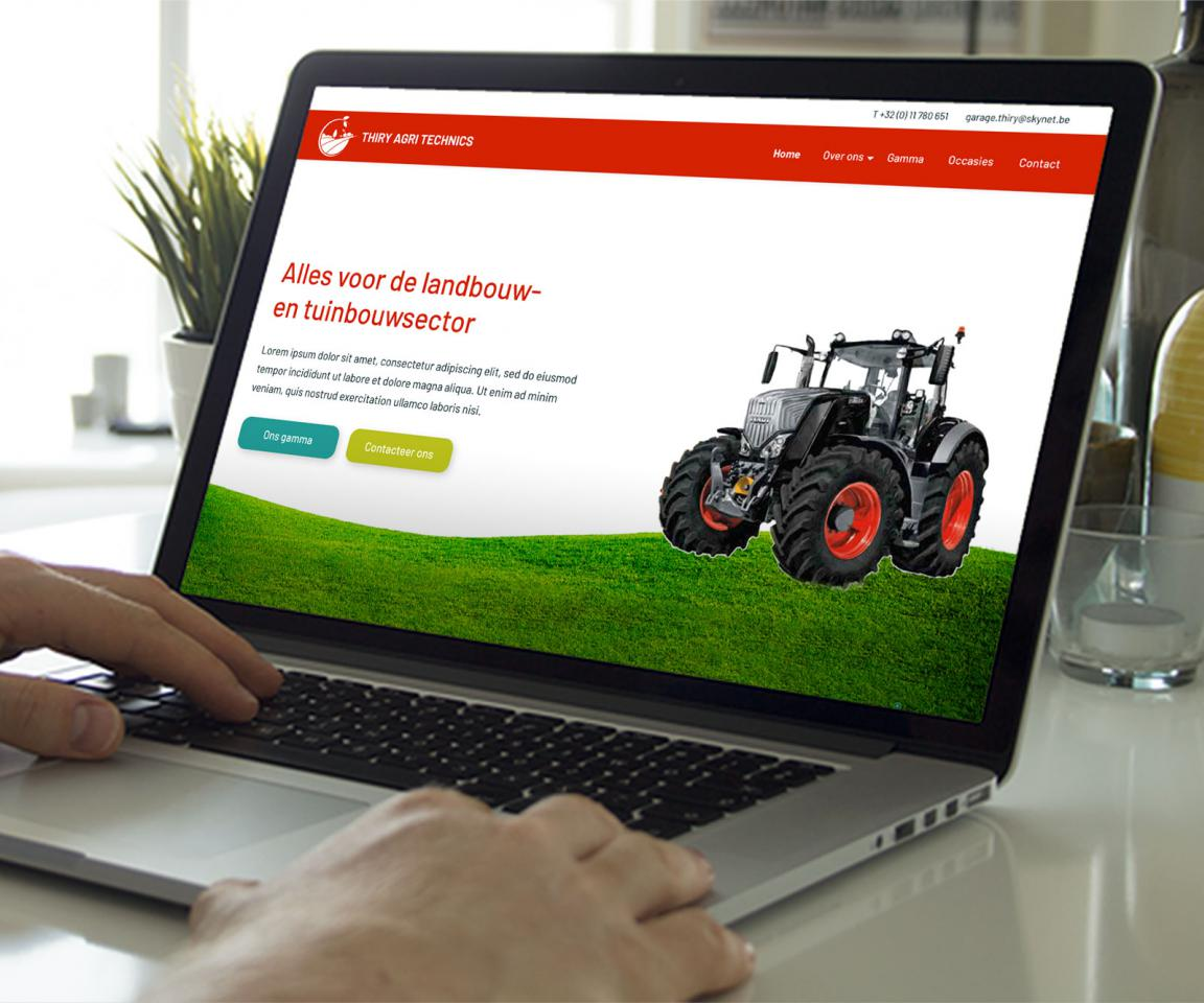 Thiry Agri Technics website